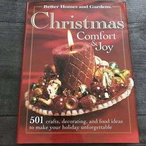 Christmas Comfort and Joy : 501 Crafts Food Decor